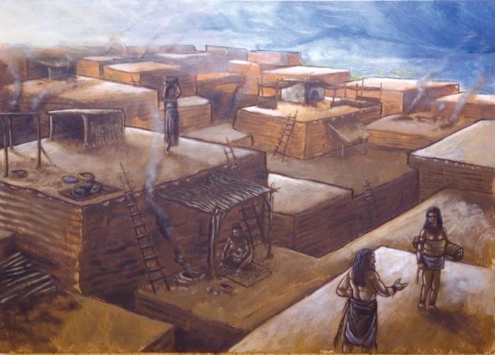 catalhoyuk_arkeoloji  Çatalhöyük İle Tanışın; Tarihin İlk Şehri  C3 A7atalh C3 B6y C3 BCk arkeoloji