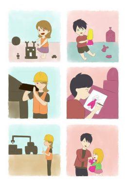 Toplumsal-Cinsiyet-Karikatürleri