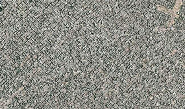 Yeni Delhi, Hindistan. Yeni Delhi'de 25 milyon kadar insan yaşıyor.