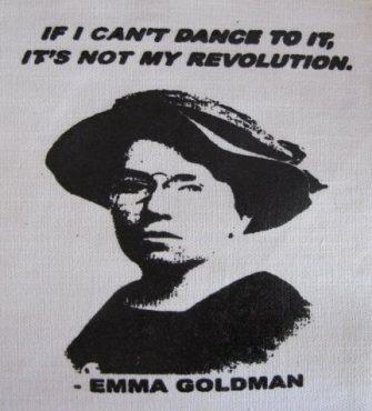 Dans edemeyeceksem, o benim devrimim değildir.