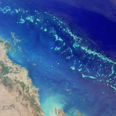 Büyük Set Resifi uydu görüntüsü