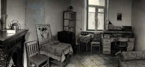 Mayakovski'nin çalışma odasi