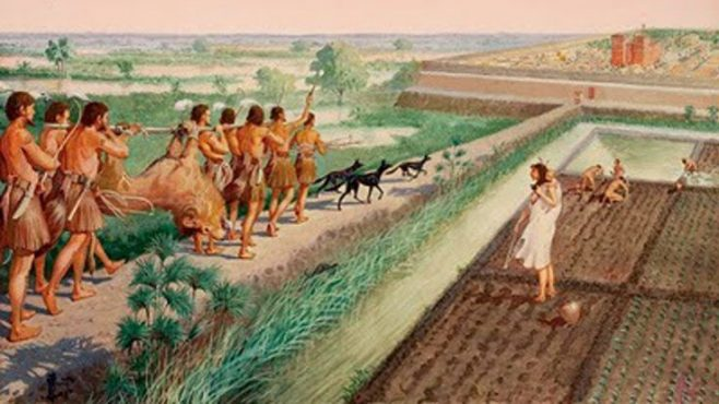 a study on ancient professions hunters and gatherers Quinoa helped ancient hunter-gatherers avoid starvation and build a new  but a  new study supports a different theory: a surge in the.