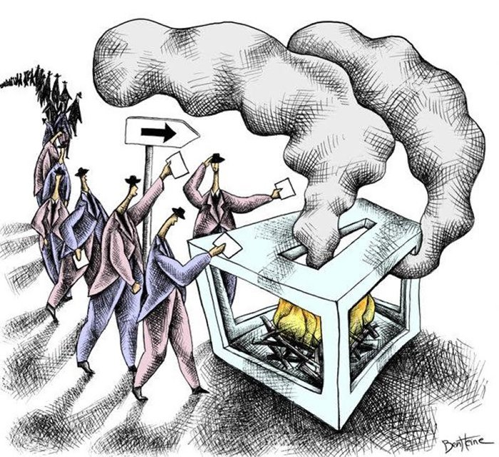 democracy cartoon_endofdemcracy_demokrasi